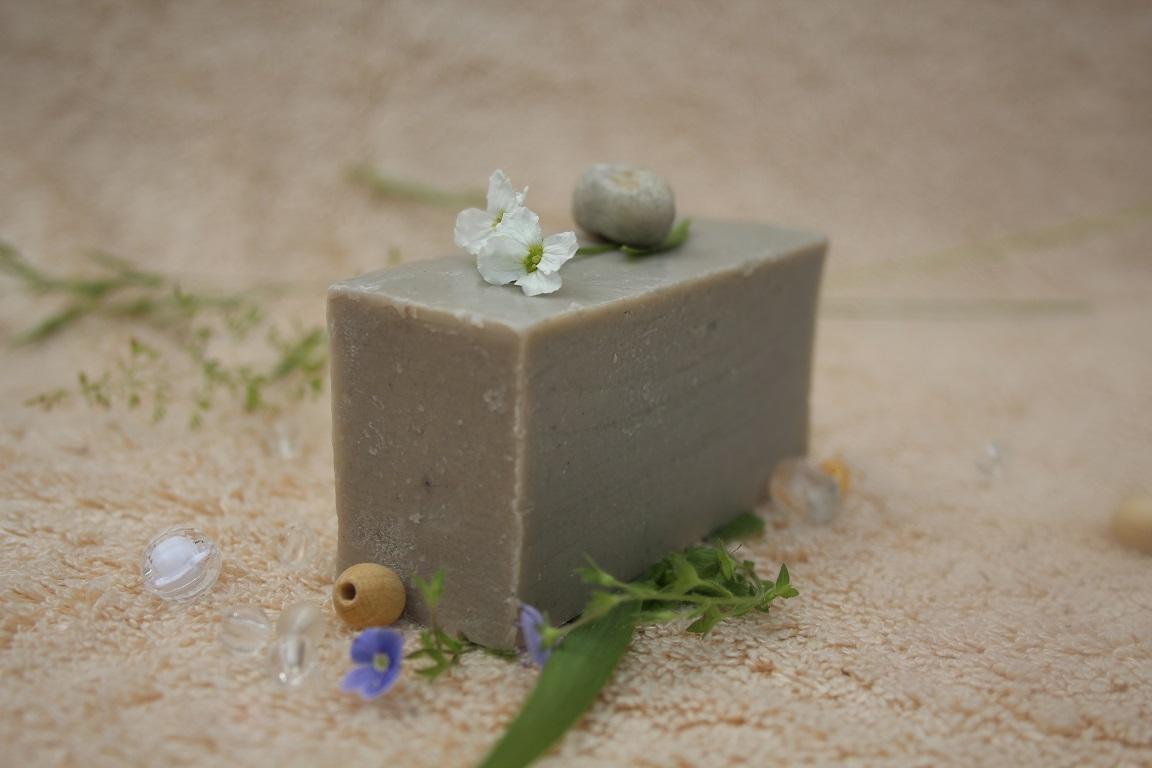 Olivové mýdlo krájené -  s aktivním stříbrem